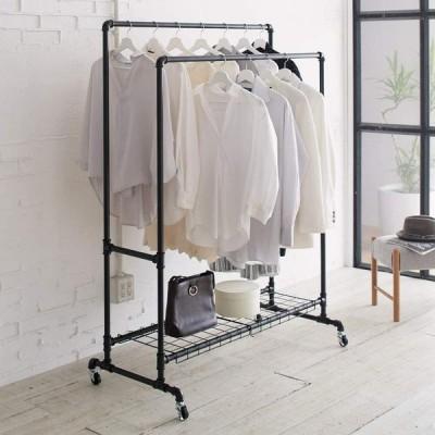 家具 収納 衣類収納 パイプハンガー Havoc/ハボック ストロングハンガー ダブル 幅91cm H91713