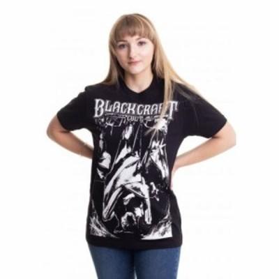 ブラック クラフト カルト Black Craft Cult レディース Tシャツ トップス - Bat Trinity - T-Shirt black