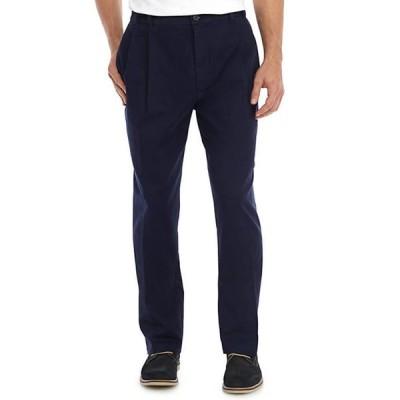 アイゾッド メンズ カジュアルパンツ ボトムス Big & Tall Performance Plus Pleat Front Pants