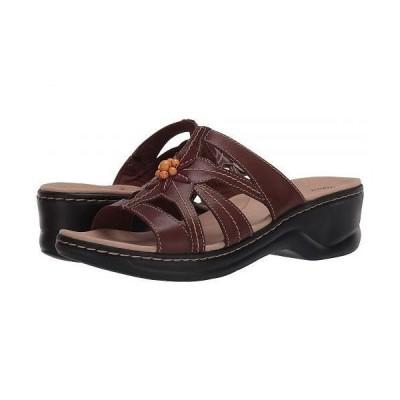 Clarks クラークス レディース 女性用 シューズ 靴 ヒール Lexi Myrtle 2 - Brown Combi Leather
