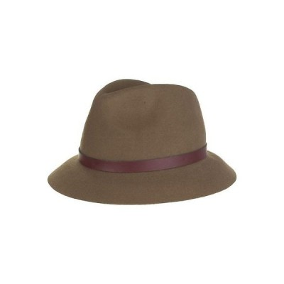 ジーニー by ユージニアキム 帽子 Genie by Eugenia Kim Jordan Hat Camel One サイズ