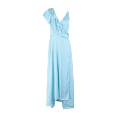 2ND DAY ロングワンピース&ドレス スカイブルー 34 ポリエステル 97% / ポリウレタン 3% ロングワンピース&ドレス