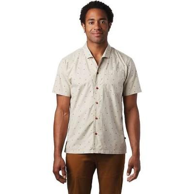 マウンテンハードウェア メンズ シャツ トップス Mountain Hardwear Men's Hand/Hold Printed SS Shirt