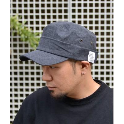 ANCHOR by ROTAR/VIVIFY / QUARTER GALLERY ベルクロデニムワークCAP MEN 帽子 > キャップ