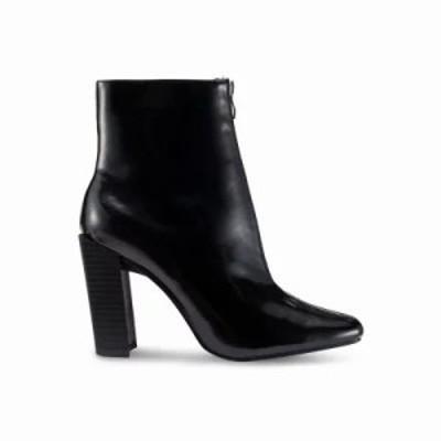 ミスガイデッド ブーツ Full Zip Heeled Boots Black