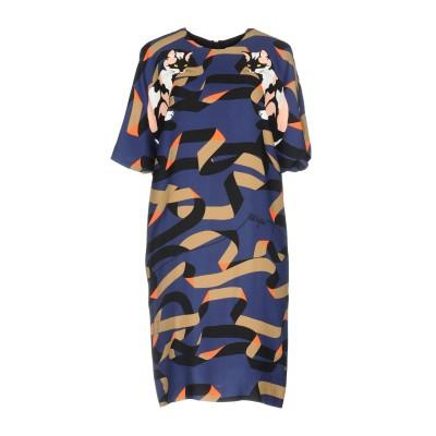 エムエスジーエム MSGM ミニワンピース&ドレス ダークブルー 40 レーヨン 100% ミニワンピース&ドレス