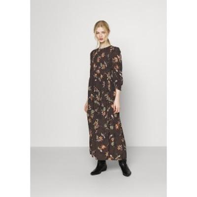 ヤス レディース ワンピース トップス YASMARTA 3/4 LONG DRESS  - Day dress - black black