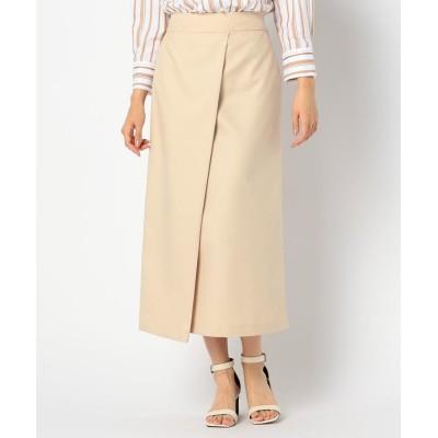 【ノーリーズ】 斜め切り替えスカート[NOLLEY'S light] レディース ベージュ 36 NOLLEY'S