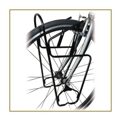 Minoura FRP-3000 Front Pannier Rack for Touring or Cyclocross Bikes【並行輸入品】
