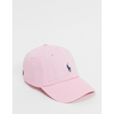 ラルフ ローレン Polo Ralph Lauren メンズ キャップ 帽子 Cap In Pink With Pony Logo ピンク