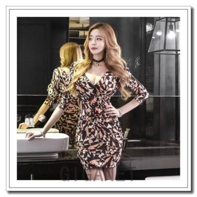 キャバドレスキャバ嬢ドレス大きいサイズキャバクラドレスキャバドレス安いミニミニドレスタイト韓国キャバドレス韓国袖あり30代パーティードレス