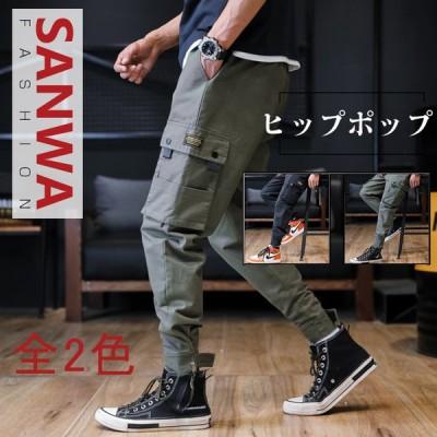 パンツ メンズ ワイドパンツ ズボン メンズ ガウチョパンツ リゾート      カーゴパンツ メンズ 男性用 バギーパンツ ゆったり カジュアル
