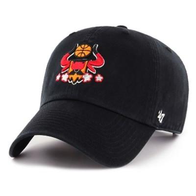 '47 Brand(フォーティーセブン)キャップ 帽子 CLEAN UP NBA Global Artist Project(Chicago Bulls x Pete Fowler)Black(ピート・ファウラー)HIPHOP