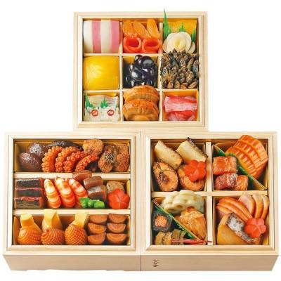 おせち 東京 日本料理 なだ万 和風 三段(3人用)
