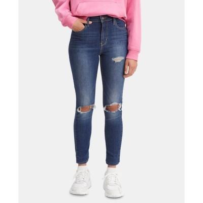 リーバイス レディース デニムパンツ ボトムス Women's 720 High-Rise Super-Skinny Jeans