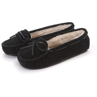 ミネトンカ MINNE TONKA CALLY SLIPPER (Black)