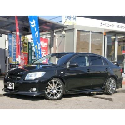 カローラアクシオ 1.5 GT タ-ボ 5速MT エアロ 車高調 17インチAW HDD