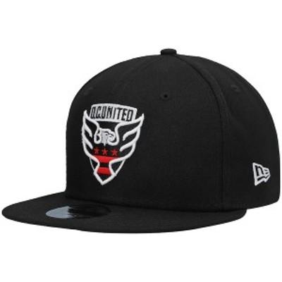 ニューエラ メンズ 帽子 アクセサリー D.C. United New Era Basic 9FIFTY Snapback Hat Black