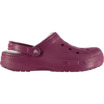 クロックス Crocs メンズ クロッグ シューズ・靴 Winter Clogs Plum/Oatmeal