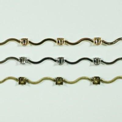 真鍮チェーン B-1098 1m ゴールド ロジウム シルバー アンティーク 古美 メッキ 真鍮 金 鎖 ハンドメイド