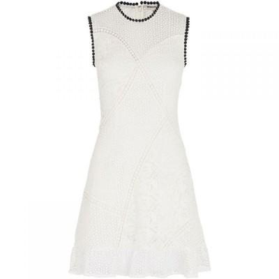 ホイッスルズ Whistles レディース ワンピース ワンピース・ドレス Cassie Mix & Match Lace Dress White