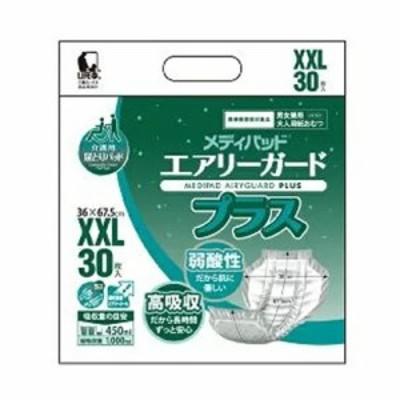 ●送料無料 近澤製紙 メディパッド エアリーガード プラス XXL 30枚×4袋 01205