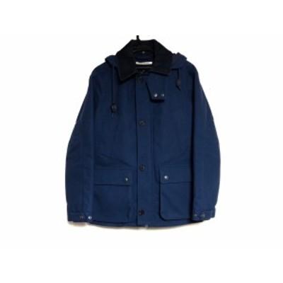ジャーナルスタンダード JOURNALSTANDARD コート メンズ ネイビー×ダークネイビー 冬物【中古】
