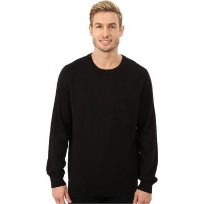 ノーティカ Nautica メンズ ニット・セーター トップス Solid Crew Neck Sweater True Black