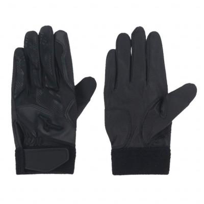 ミズノ 野球 バッティング用手袋 左手用 1EJEH17090 : ブラック MIZUNO