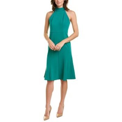 ドナモーガン レディース ワンピース トップス Donna Morgan A-Line Dress evergreen