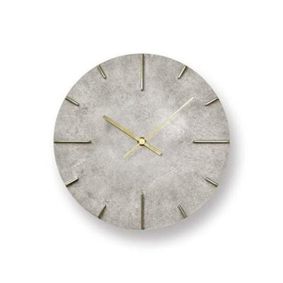 レムノス 掛け時計 アナログ 真鍮 銀 クエィント 斑紋純銀色 Quaint AZ15-06SL Lemnos 直径25cm