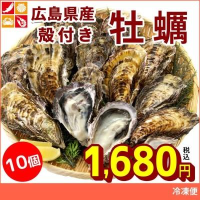 牡蠣 殻付き 兵庫県産 10個