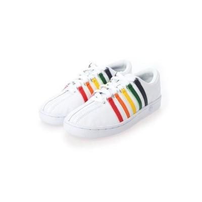ケースイス KSWISS CLASSIC 88 (White/Rainbow)