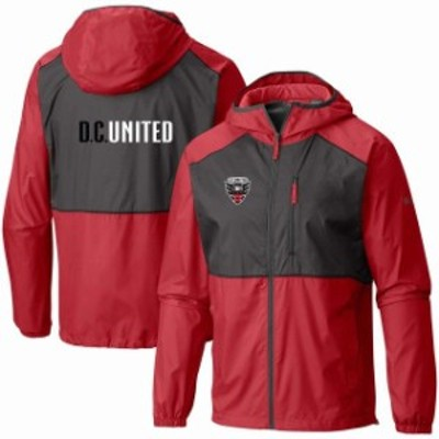 Columbia コロンビア スポーツ用品  Columbia D.C. United Red Team Logo Flash Forward Full-Zip Windbreaker Jacket