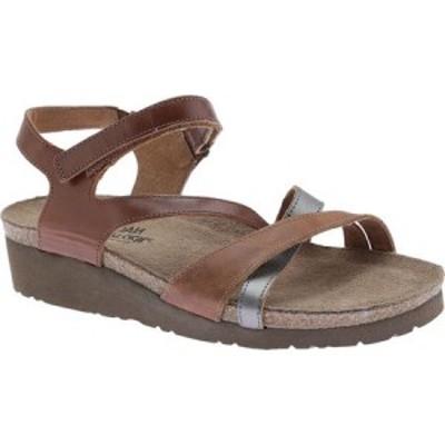 ナオト Naot レディース サンダル・ミュール シューズ・靴 Sophia Maple Brown/Latte Brown/Mirror Leather