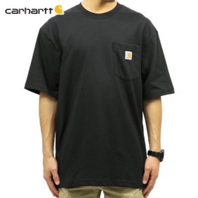 カーハート Tシャツ 正規品 CARHARTT 半袖Tシャツ WORKWEAR POCKET SHORT-SLEEVE T-SHIRT K87 BLK