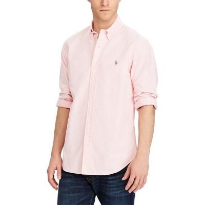 ラルフローレン メンズ シャツ トップス Solid Oxford Shirt Pink
