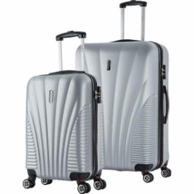 inUSA  旅行用品 キャリーバッグ inUSA Luggage Chicago SL 2-Piece Lightweight Hardside Luggage Set NEW