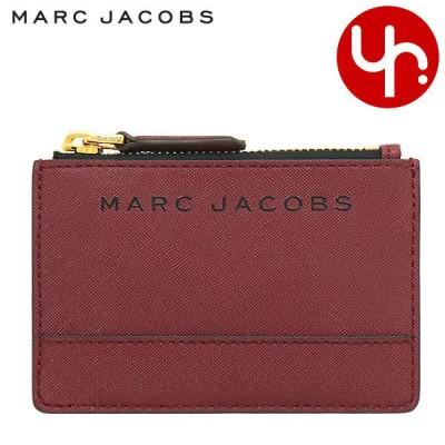 マークジェイコブス Marc Jacobs 財布 コインケース M0015056 サルトリーレッド ブランデッド サフィアーノ レザー マルチ ウォレット アウトレット レディース