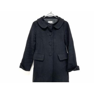 アナトリエ anatelier コート サイズ36 S レディース - 黒 長袖/冬【中古】20200725