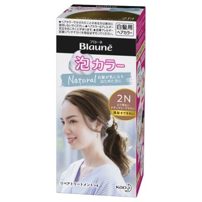 ブローネ 泡カラー(本体 【2N】より明るいナチュラリーブラウン) 白髪染め