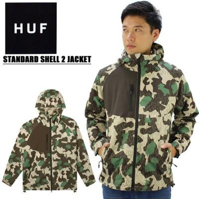 ハフ(HUF) STANDARD SHELL 2 JACKET シェル ジャケット/アウター/メンズ【34】 送料無料 [CC]