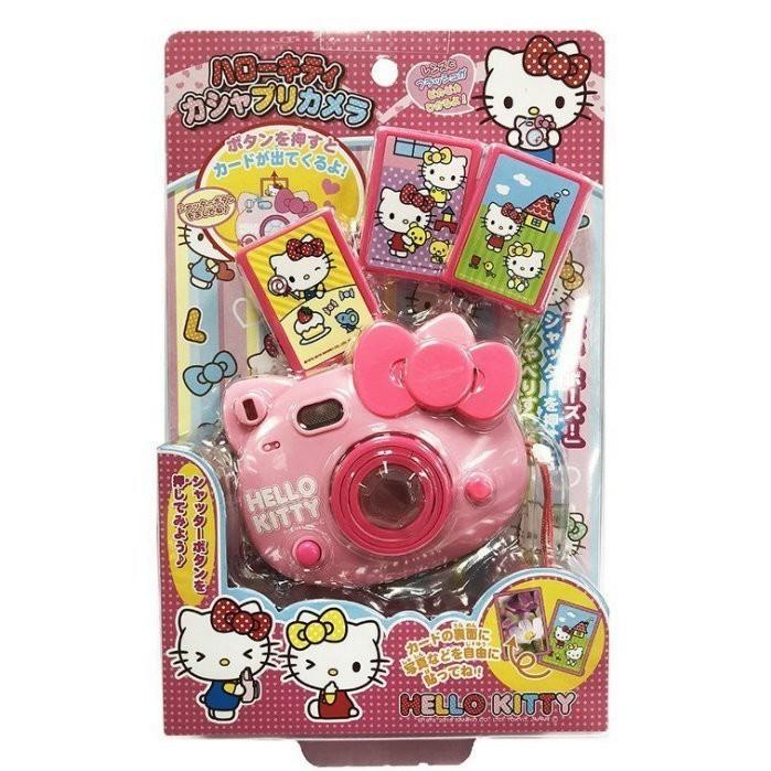 三麗鷗 正版授權 hello kitty 凱蒂貓 聲光拍立得 相機 玩具0511398