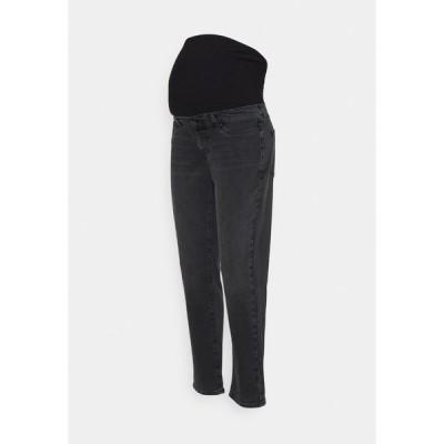 アンナ フィールド ママ デニムパンツ レディース ボトムス Jeans Skinny Fit - black denim