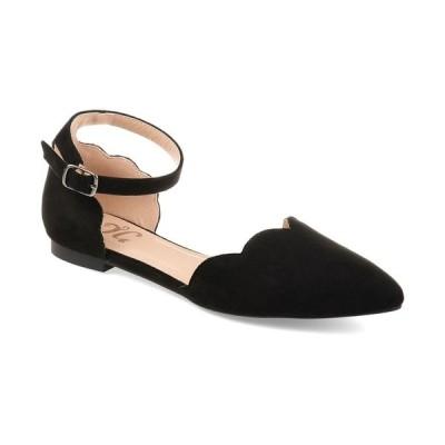 ジャーニーコレクション サンダル シューズ レディース Women's Lana Flats Black