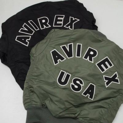AVIREX アヴィレックス(アビレックス)  6102171(6162164)  MA-1 LOGO ロゴ