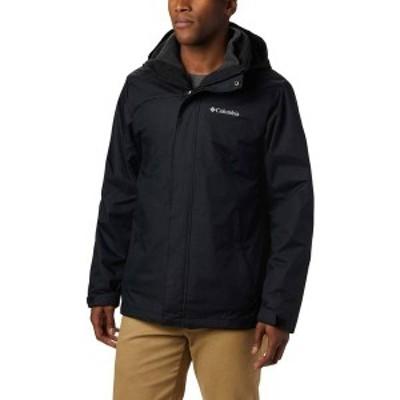 コロンビア メンズ ジャケット・ブルゾン アウター Columbia Men's Eager Air Interchange Jacket (Regular and Big & Tall) Black 1