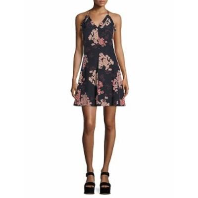レベッカテイラー レディース ワンピース Phlox Printed Silk Slip Dress