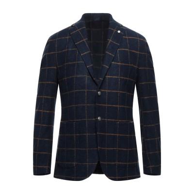 BRANDO テーラードジャケット ダークブルー 54 アクリル 54% / ウール 24% / ポリエステル 22% テーラードジャケット