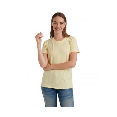 Lucky Brand ラッキーブランド レディース 女性用 ファッション Tシャツ Short Sleeve Crew Neck Essential Printed Tee - Yellow Multi